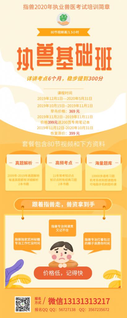 2019年重庆执业兽医师资格证考试分数查询